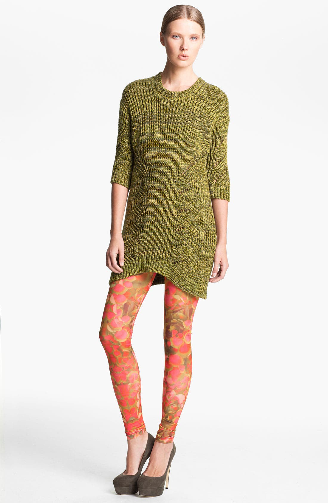 Alternate Image 1 Selected - McQ by Alexander McQueen Ribbed Sweater Tunic