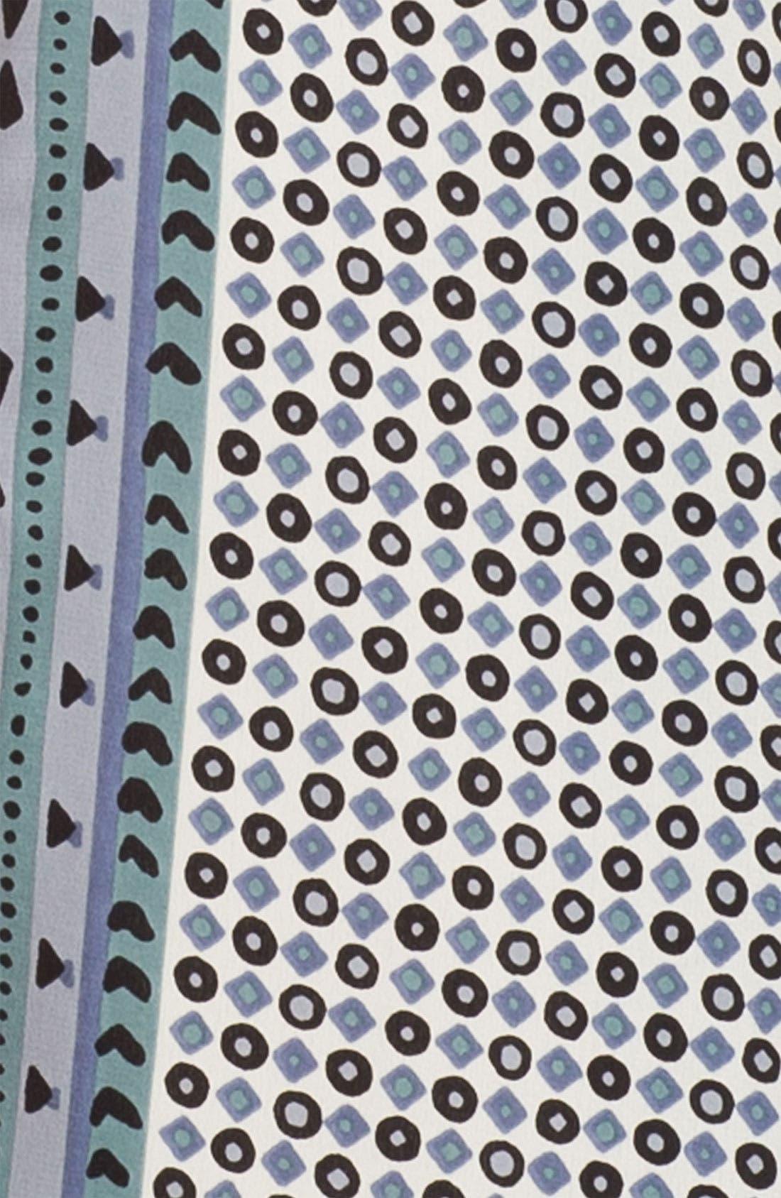 Alternate Image 2  - Burberry Prorsum Painted Geometric Scarf