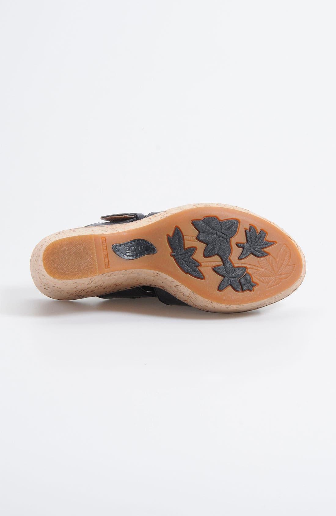 Alternate Image 4  - Børn 'Beau' Wedge Sandal (Nordstrom Exclusive)