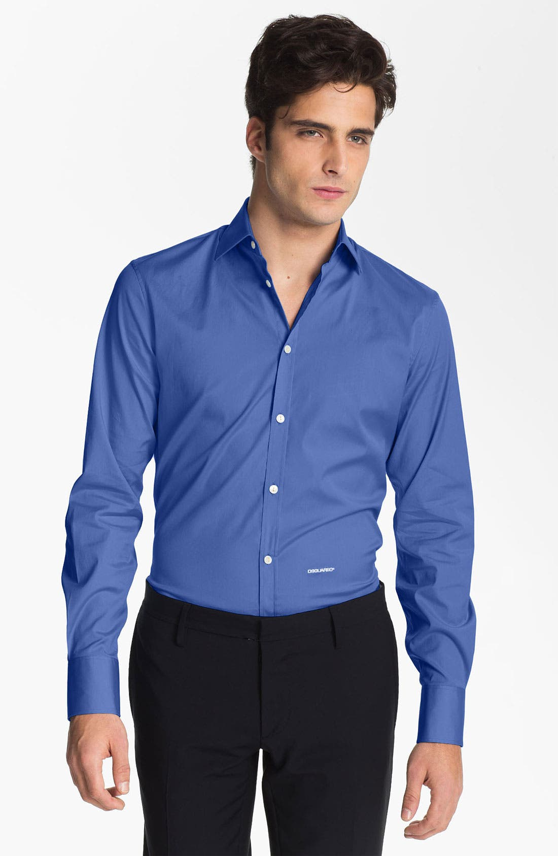 Alternate Image 1 Selected - Dsquared2 'Dean Dan' Stretch Cotton Dress Shirt