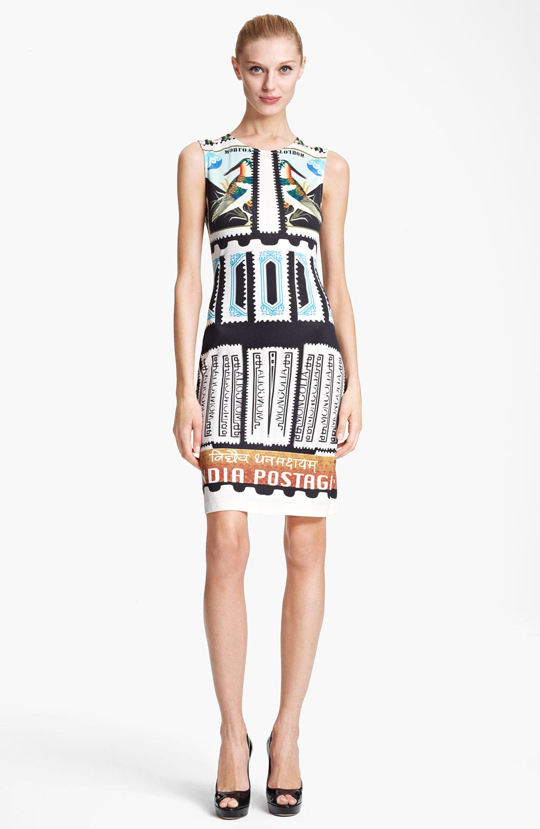Alternate Image 1 Selected - Mary Katrantzou India Print Jersey Dress