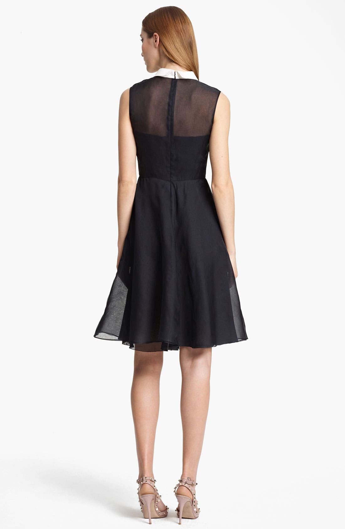 Alternate Image 2  - Valentino Organza Dress