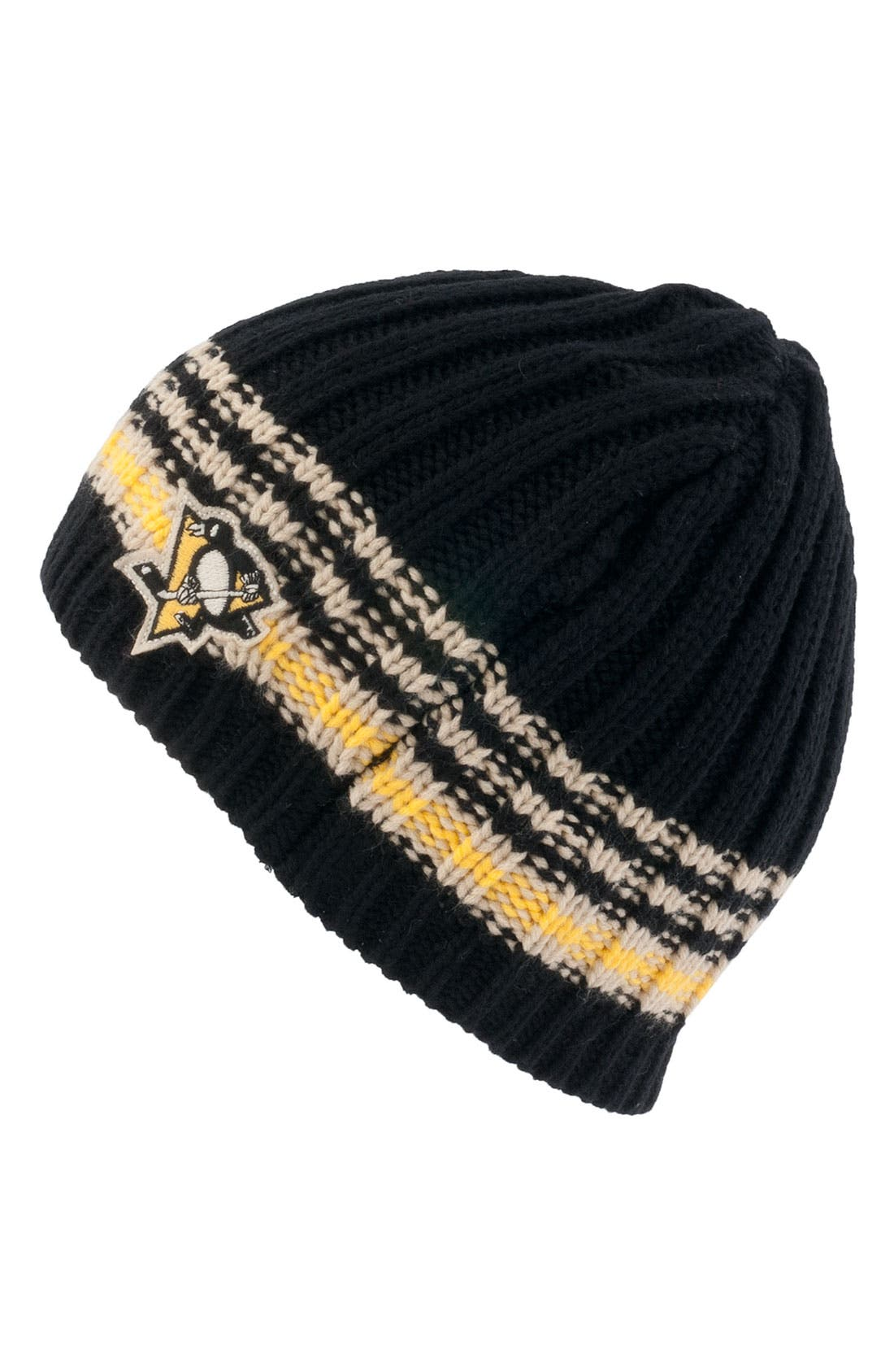 Alternate Image 1 Selected - American Needle 'Pittsuburgh Penguins - Targhee' Knit Hat