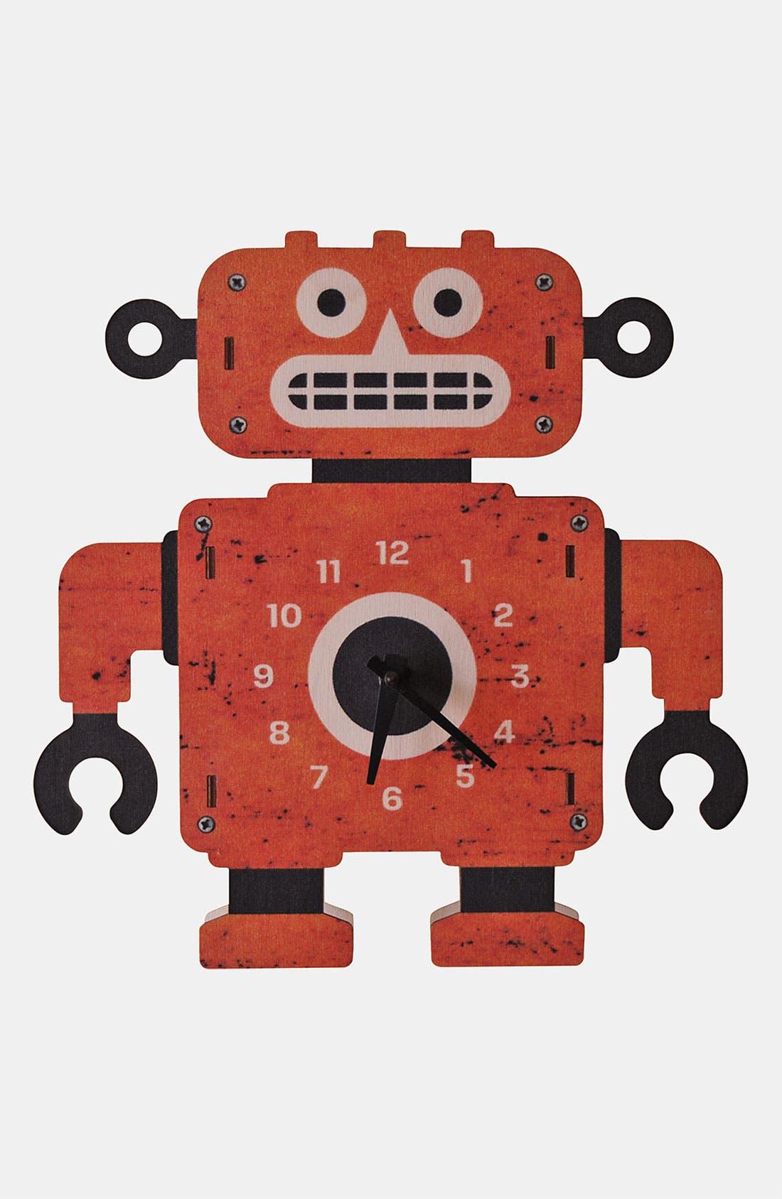 Alternate Image 1 Selected - Modern Moose 'Clockbot' Clock
