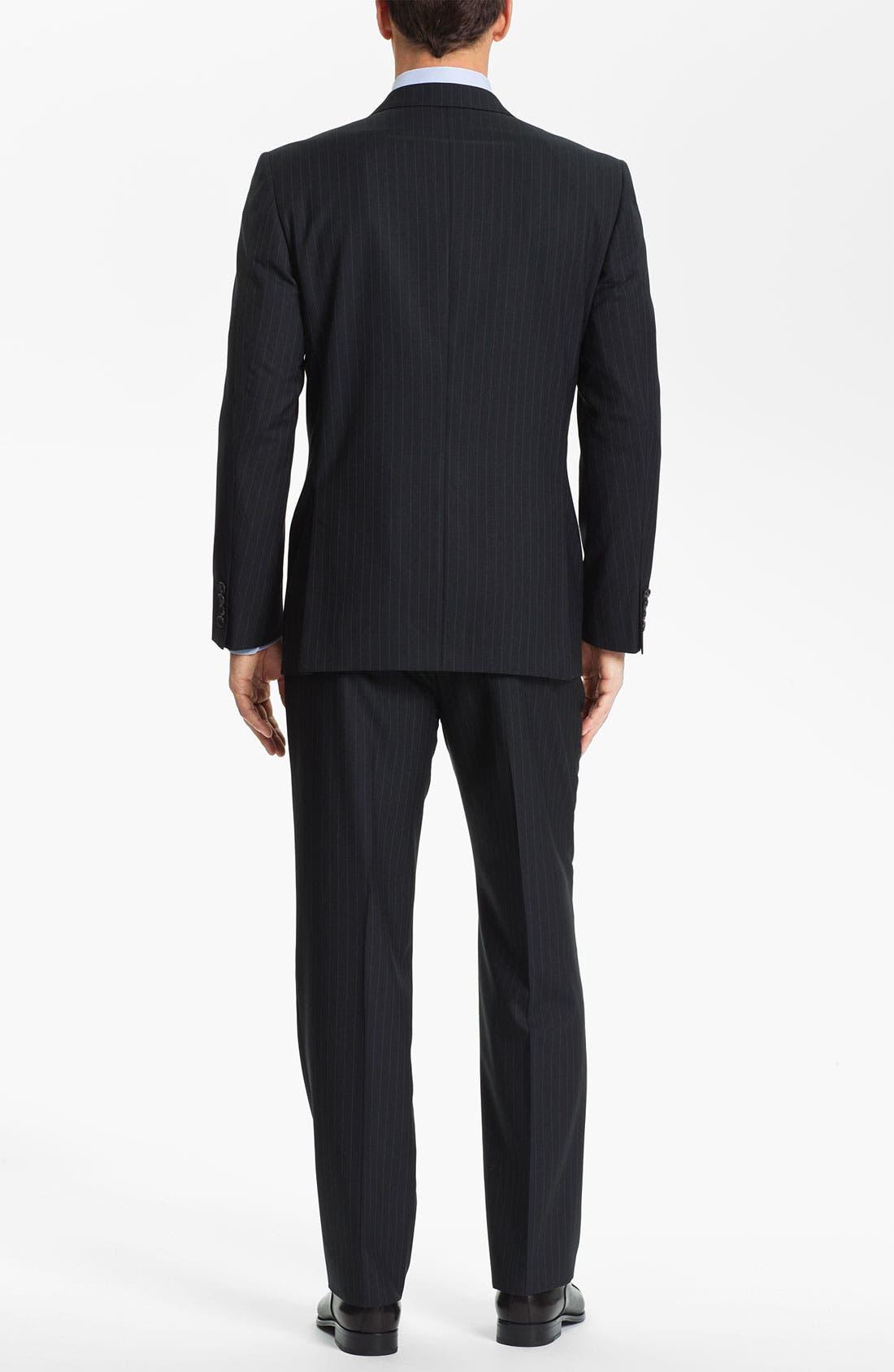 Alternate Image 3  - Joseph Abboud Stripe Suit