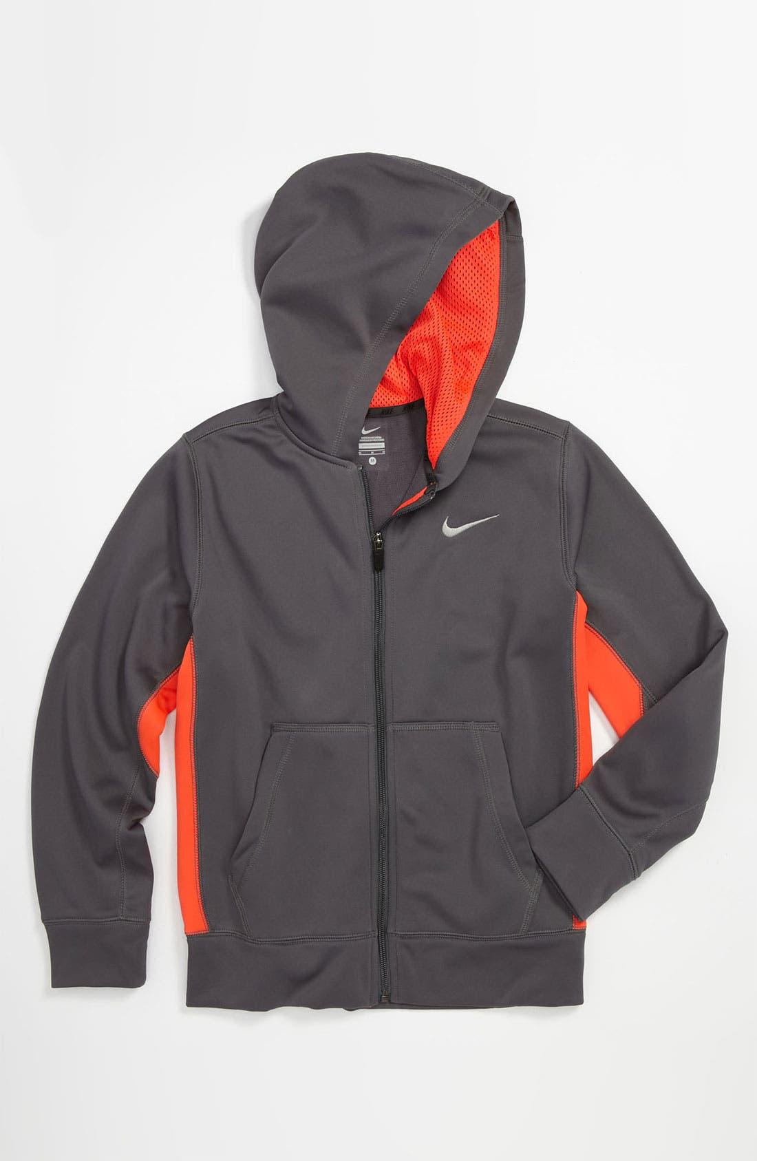 Alternate Image 1 Selected - Nike 'Shield' Hoodie (Big Boys)