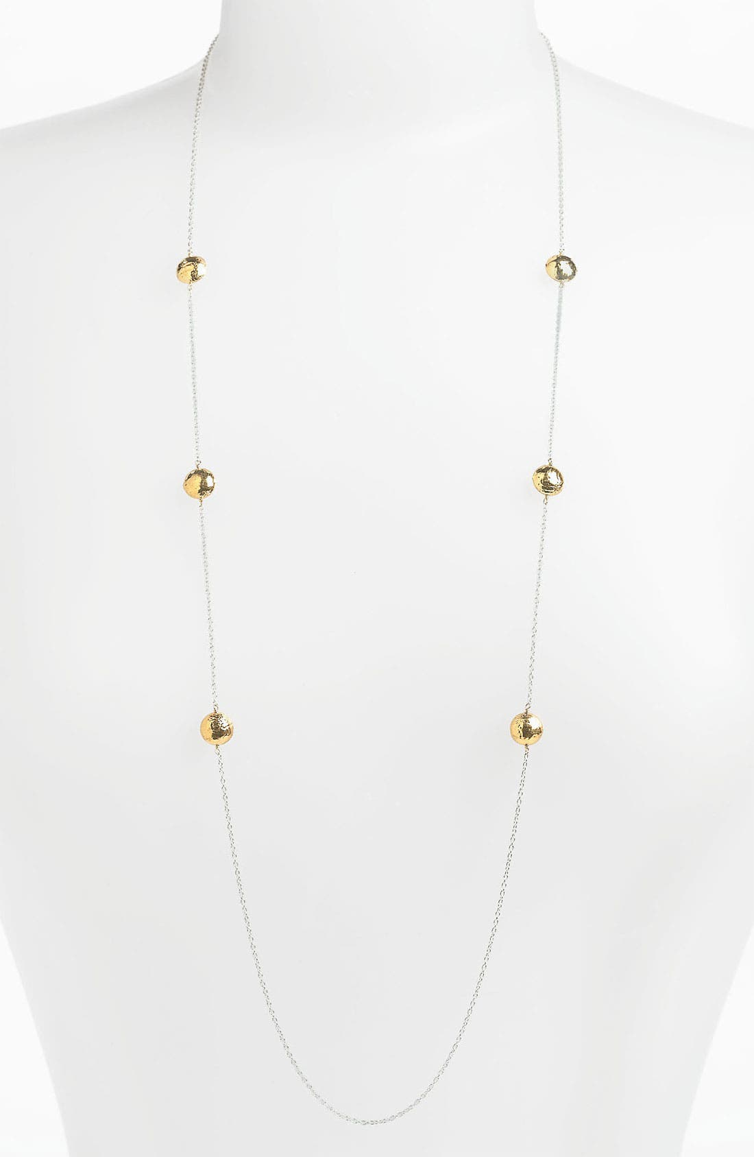 Alternate Image 1 Selected - Argento Vivo 'Bauble Bar' Long Station Necklace (Nordstrom Exclusive)