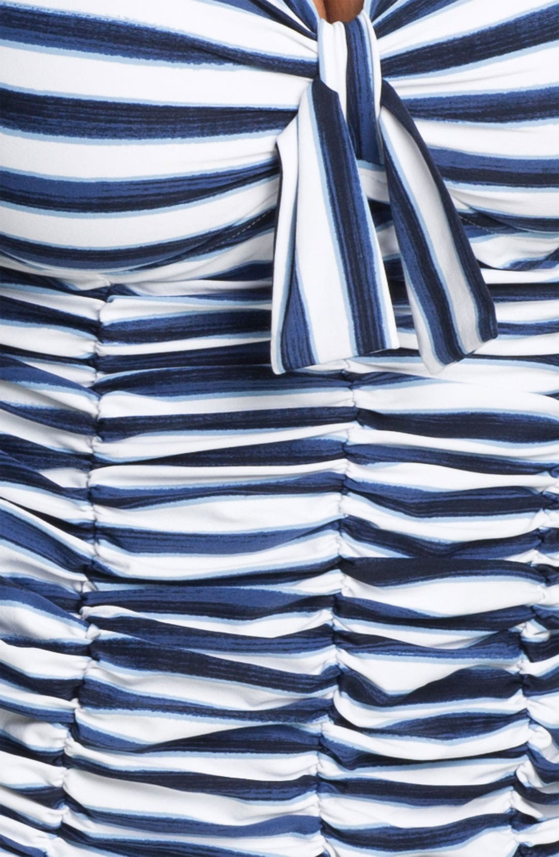 Alternate Image 3  - Seafolly Ruched Tankini Top (DD Cup)