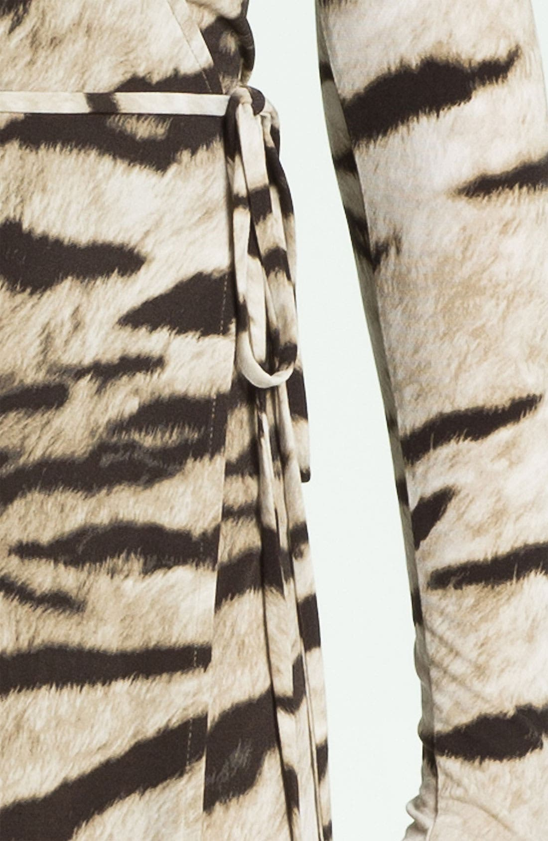 Alternate Image 3  - MICHAEL Michael Kors Tiger Print Wrap Dress