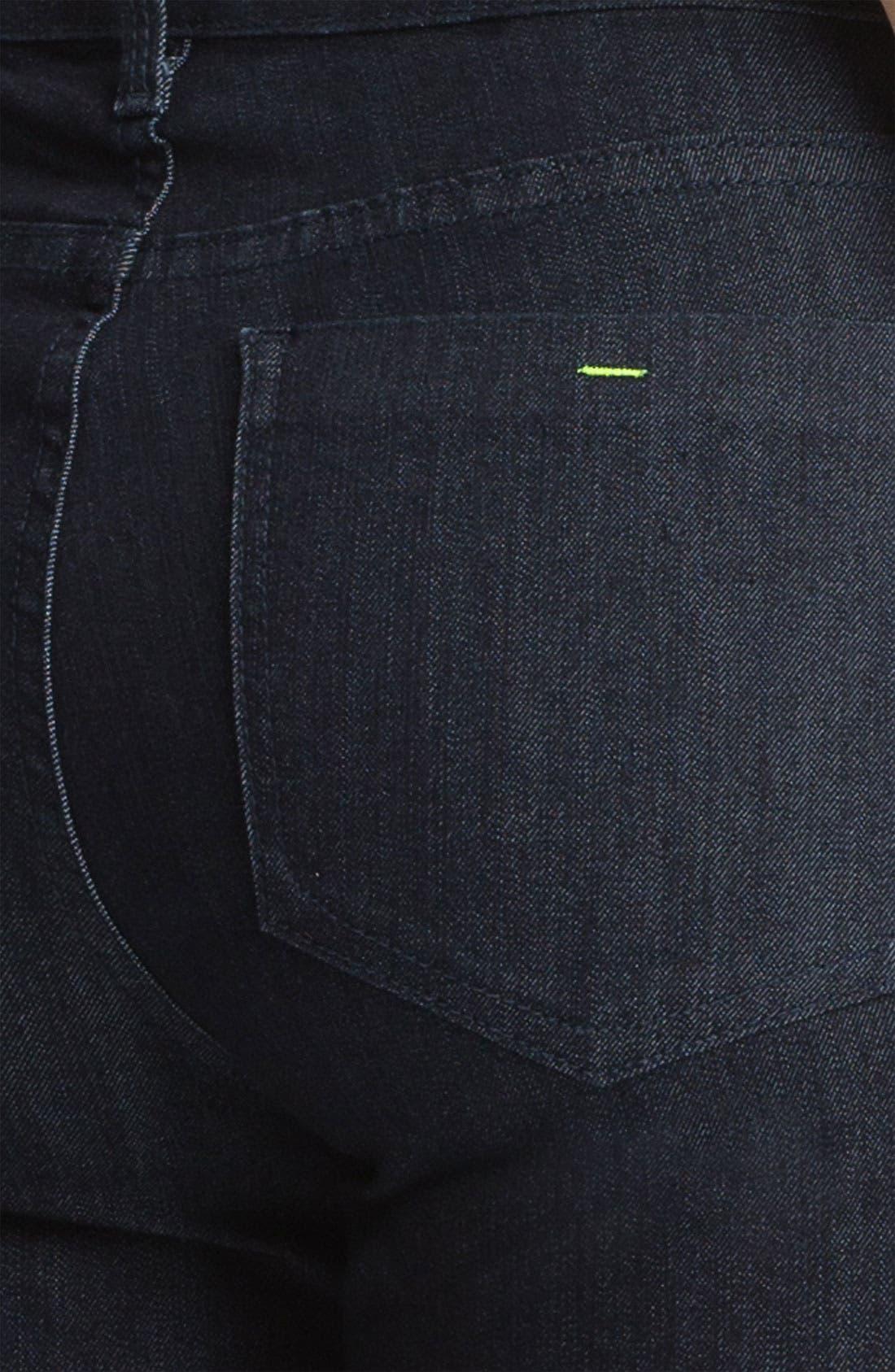 Alternate Image 3  - NYDJ 'Sheri' Neon Stitch Skinny Stretch Jeans