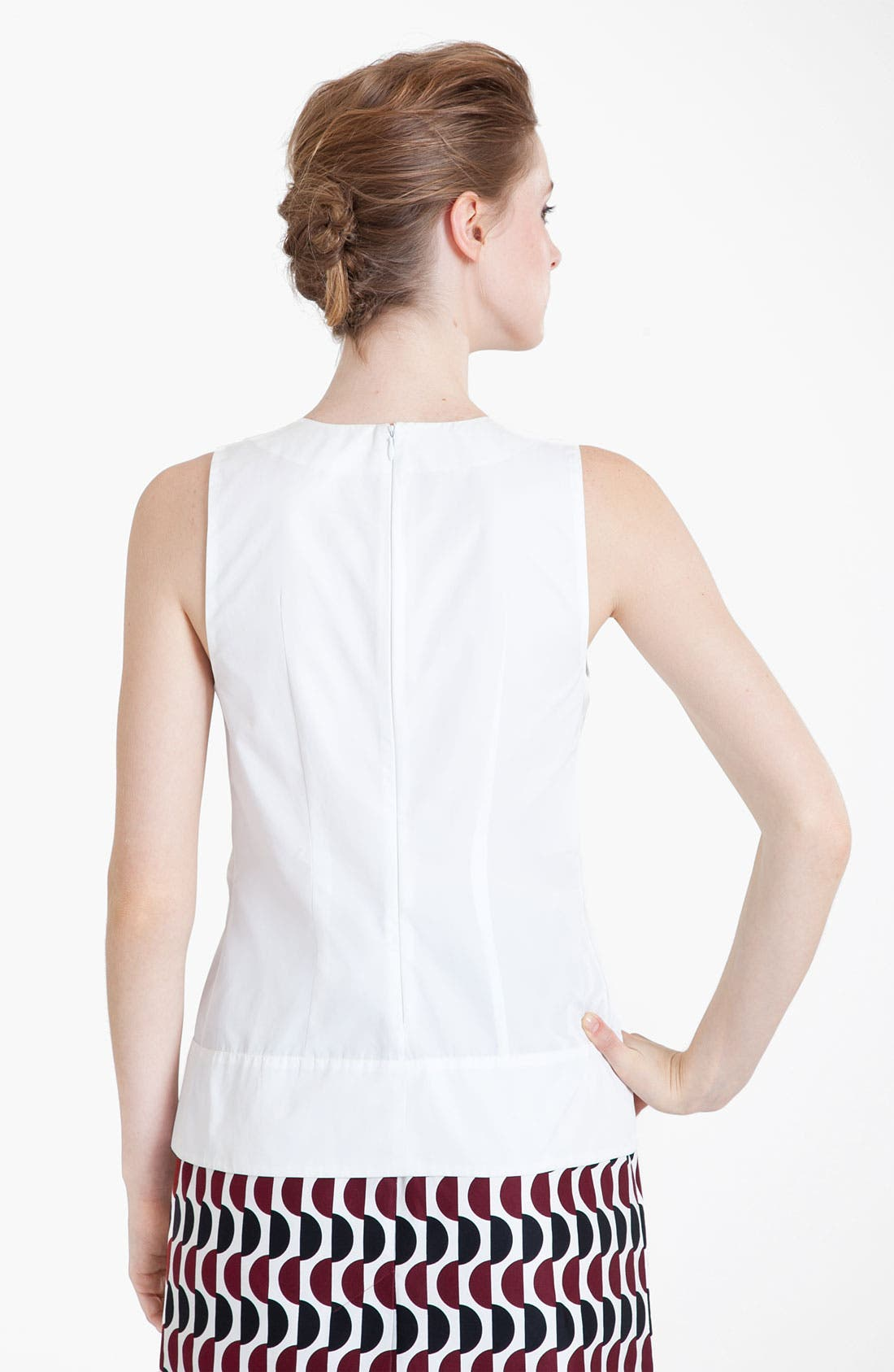 Alternate Image 2  - Marni Pleated Poplin Top