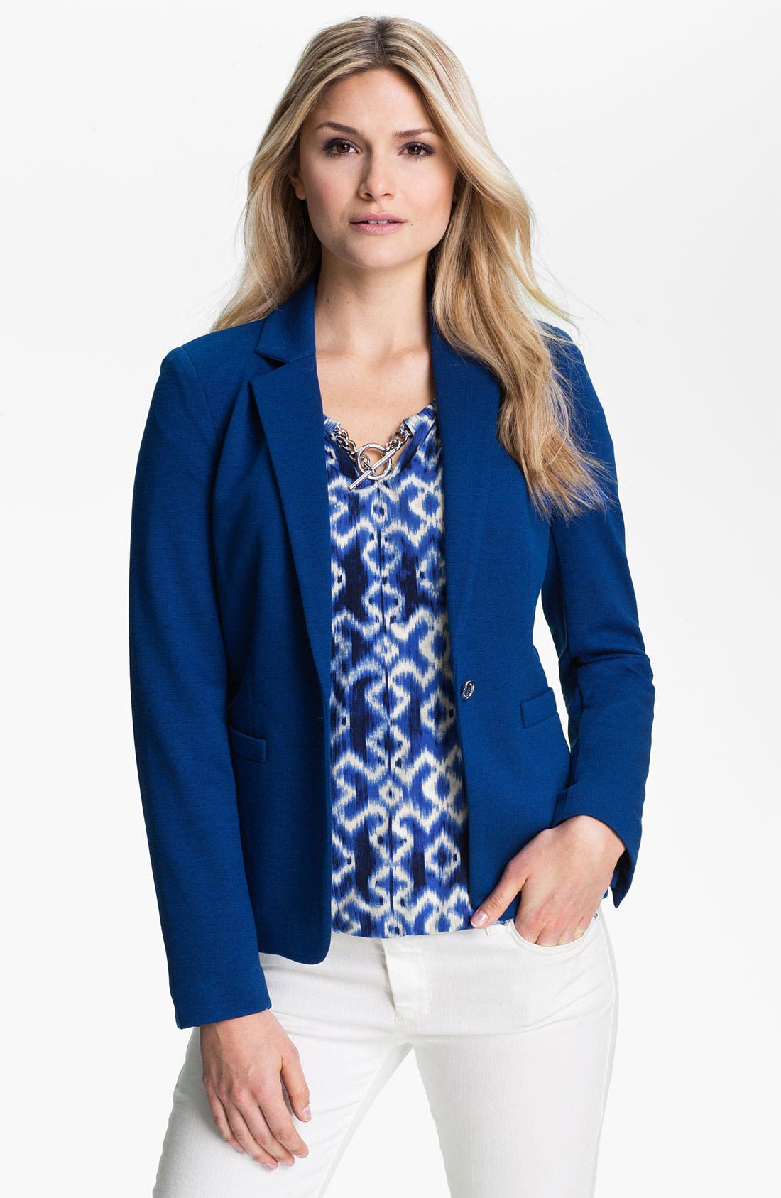 Main Image - MICHAEL Michael Kors Structured Knit Blazer