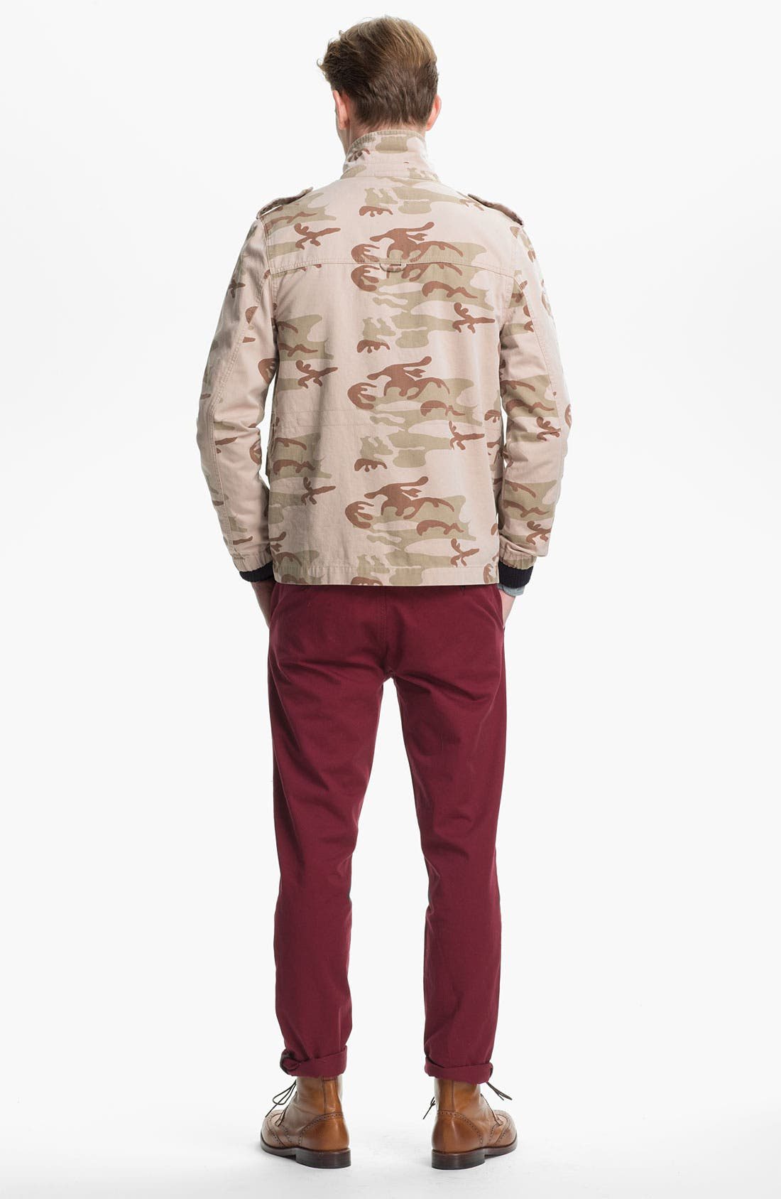Alternate Image 5  - Topman Camo Field Jacket
