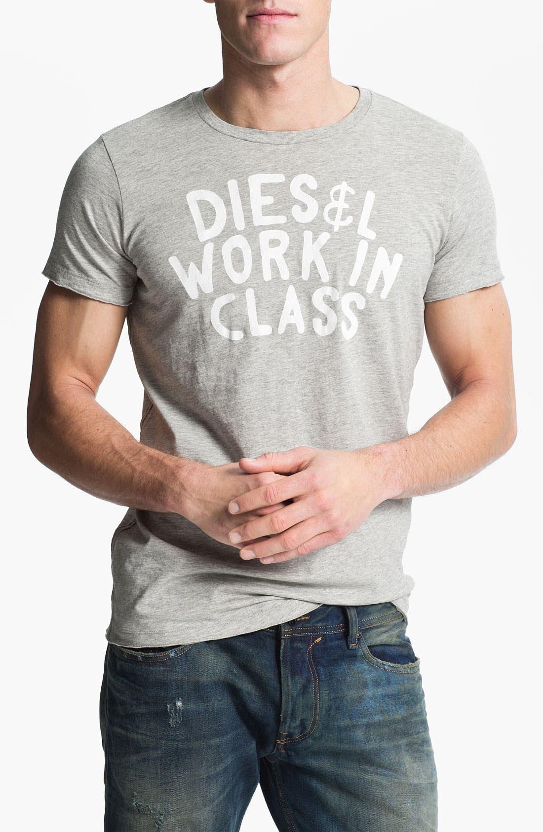 Alternate Image 1 Selected - DIESEL® 'Sandy' Graphic T-Shirt