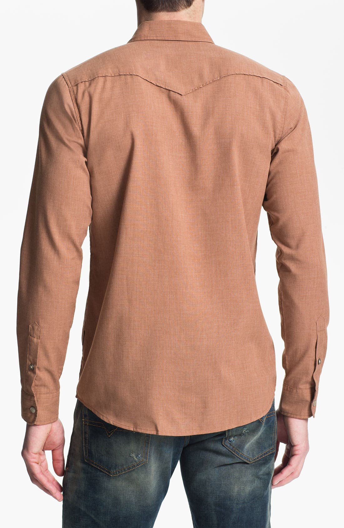 Alternate Image 2  - 55DSL 'Saloon' Woven Western Shirt