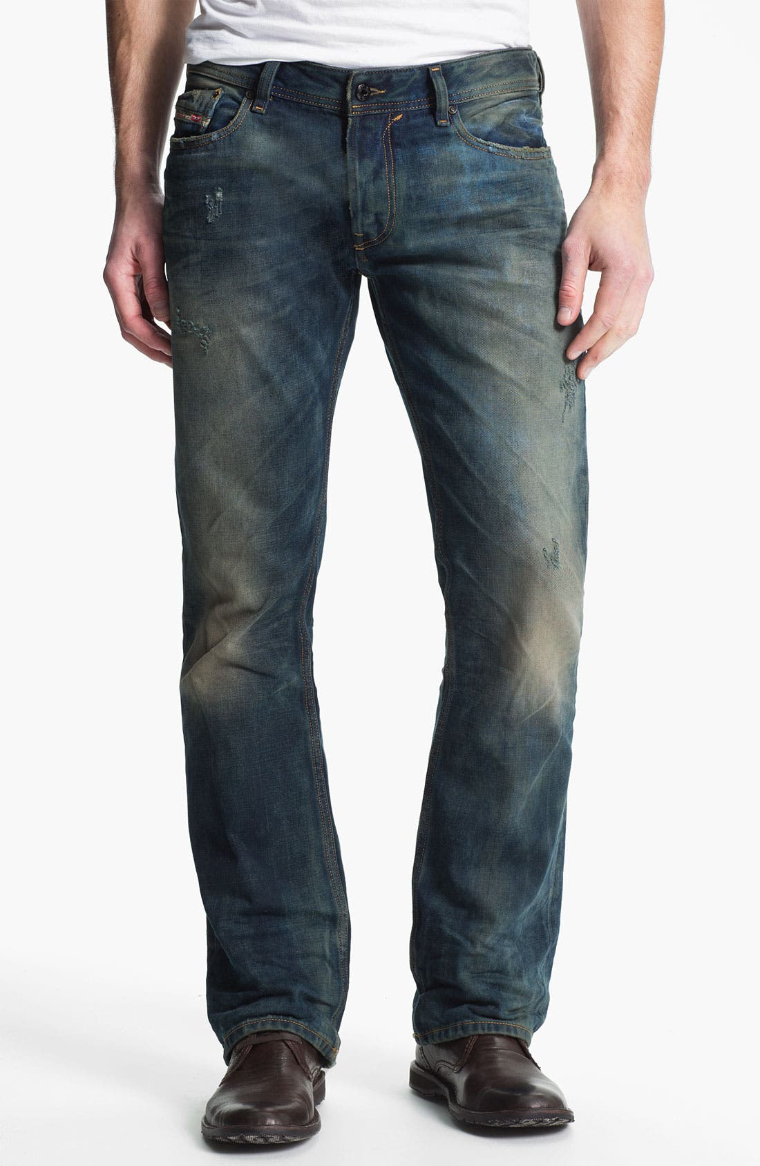 Alternate Image 2  - DIESEL® 'New Fanker' Bootcut Jeans (0075L)