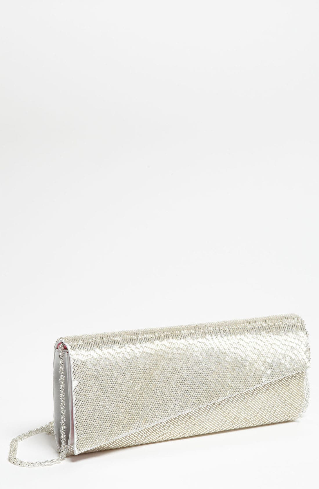Alternate Image 1 Selected - Nina Beaded Angle Clutch