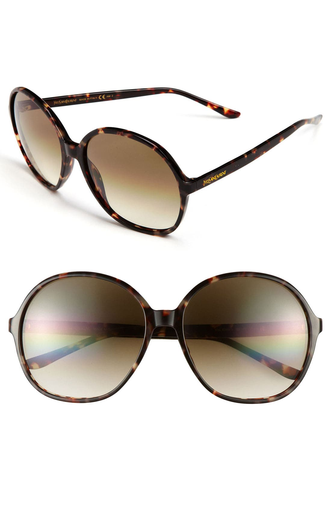 Alternate Image 1 Selected - Saint Laurent Oversized Sunglasses