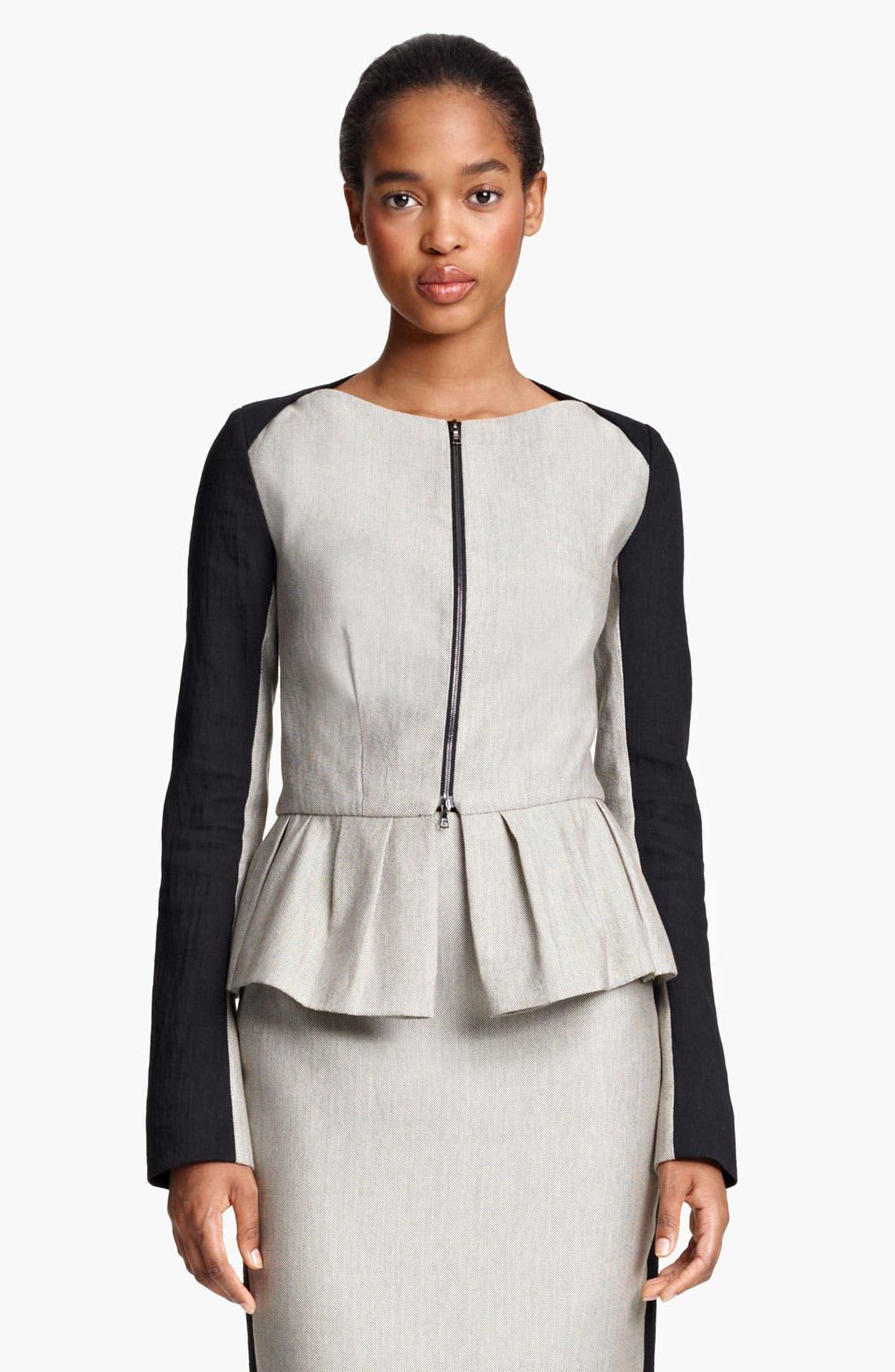 Alternate Image 2  - Lida Baday Jacket & Skirt