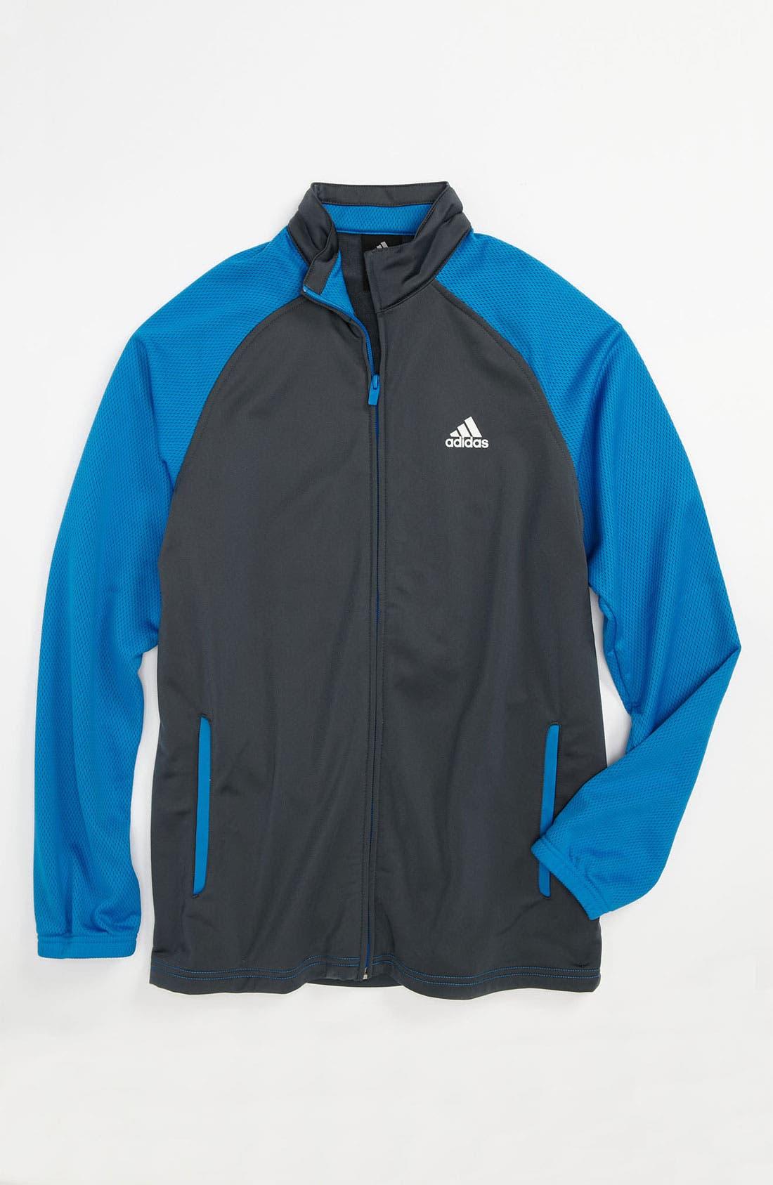 Alternate Image 1 Selected - adidas 'Pro Model' Jacket (Big Boys)