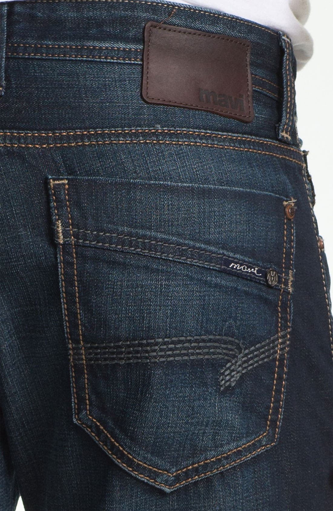 Alternate Image 4  - Mavi Jeans 'Josh' Bootcut Jeans (Deep American Vintage)