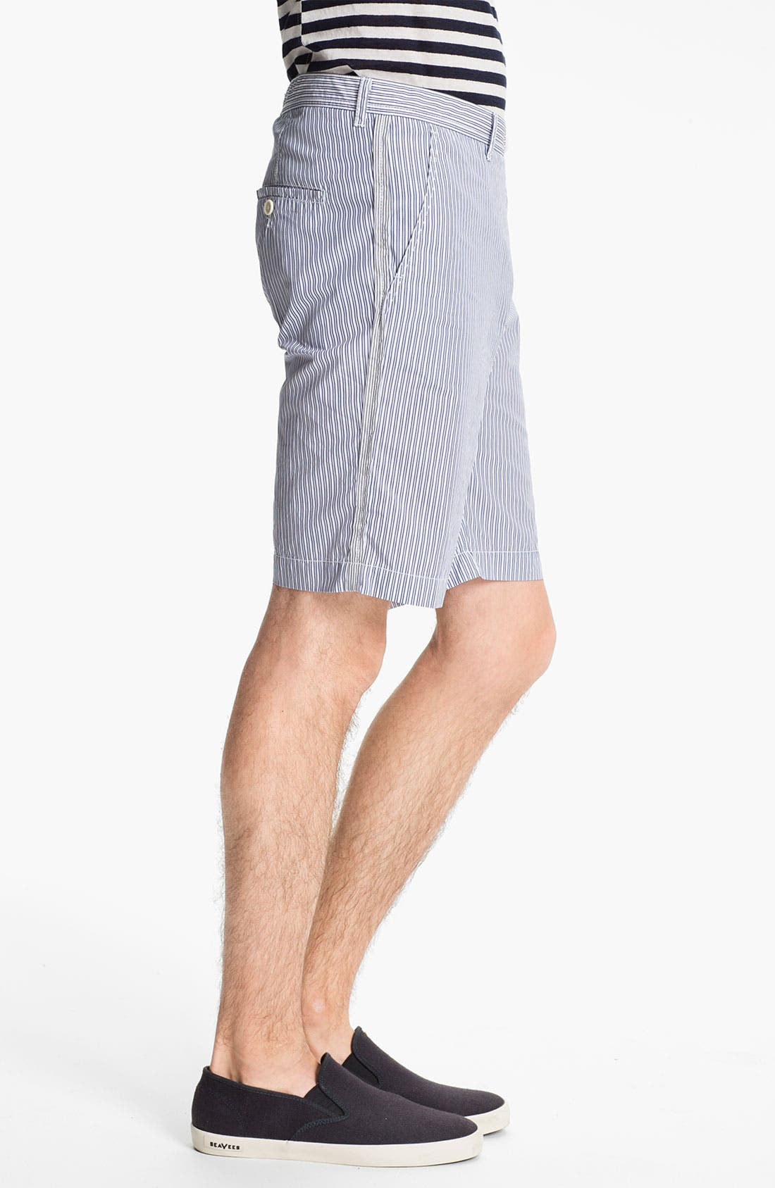 Alternate Image 5  - U Clothing 'Finn Classic' Stripe Shorts