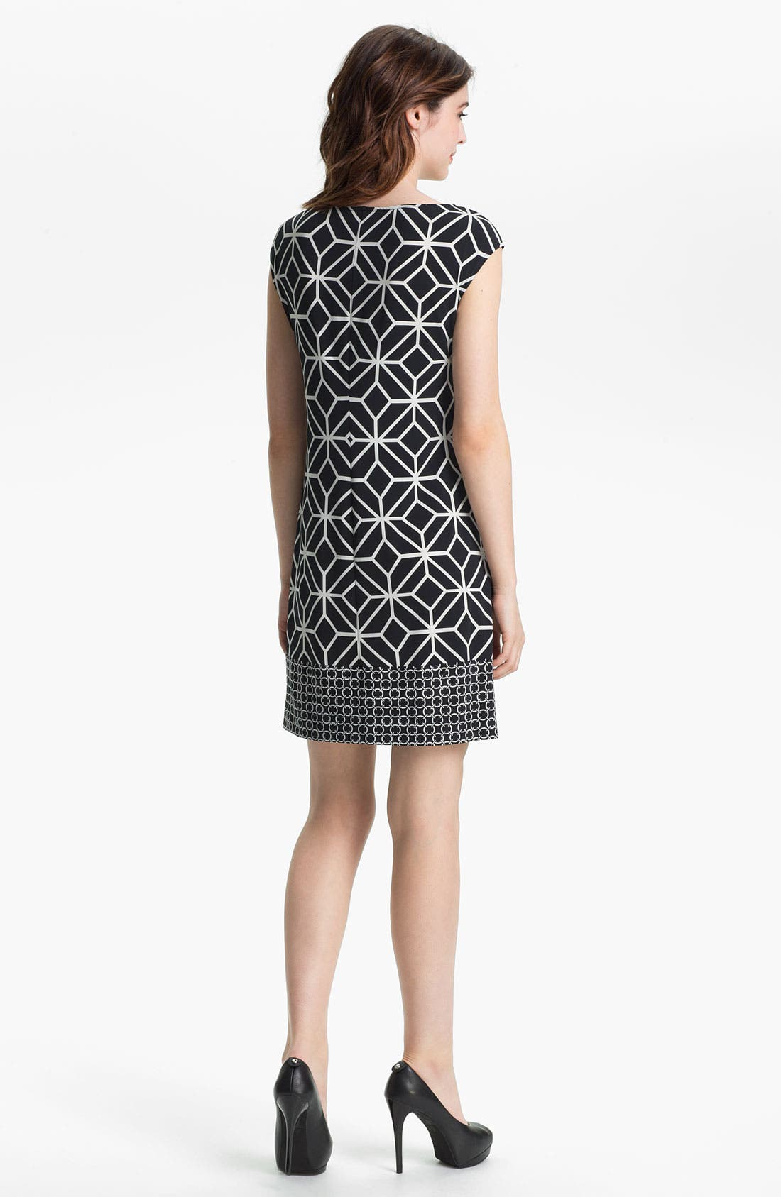 Alternate Image 2  - Donna Morgan Print Knit Dress
