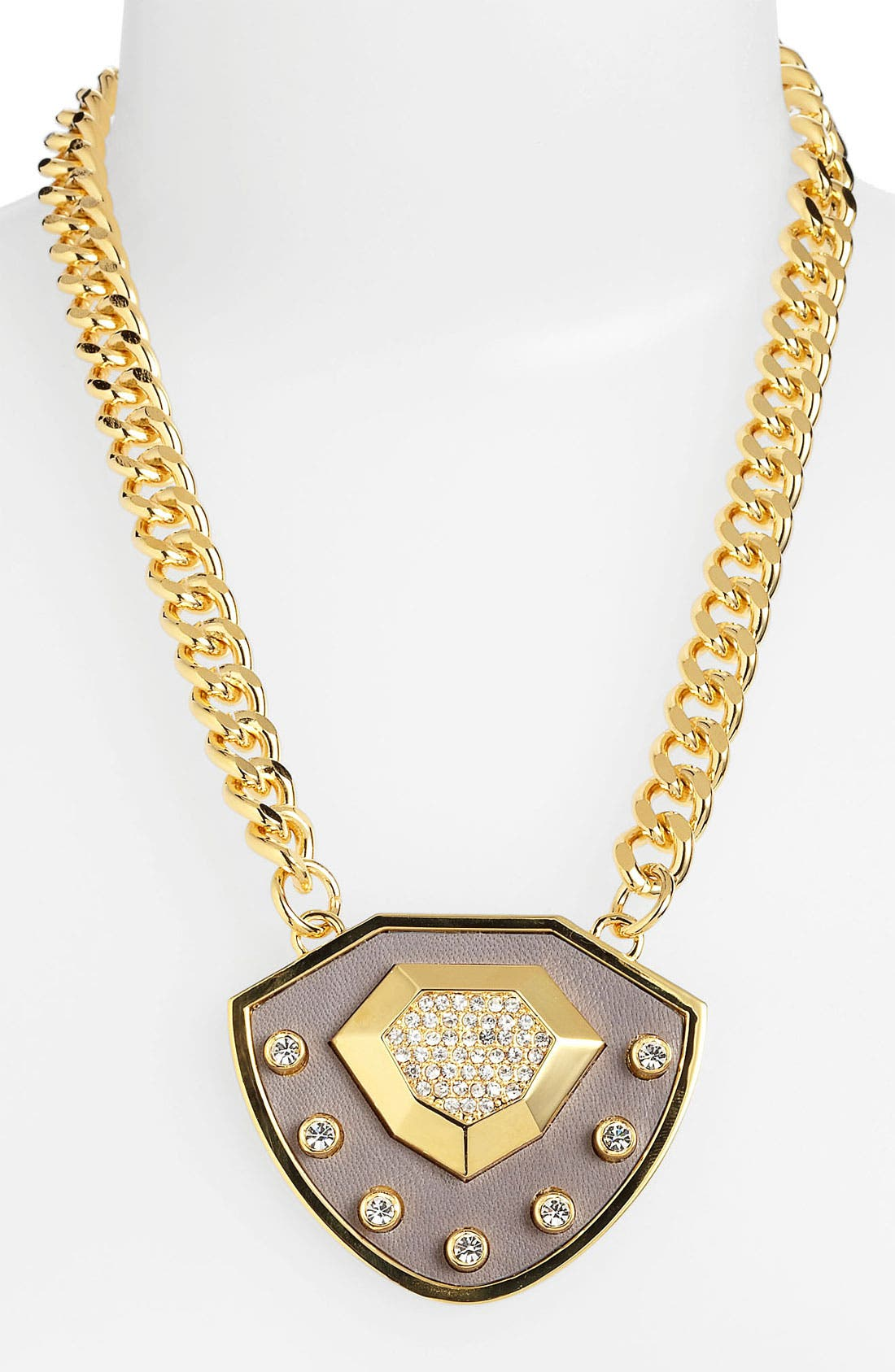 Alternate Image 1 Selected - Vince Camuto Shield Pendant Necklace