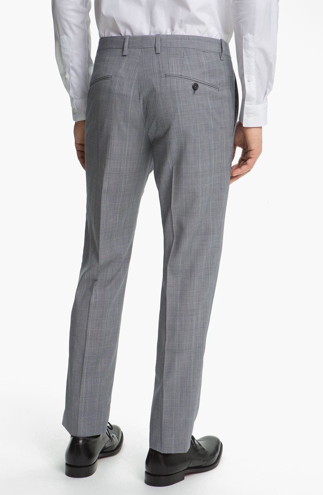 Alternate Image 5  - Jil Sander Glen Plaid Suit