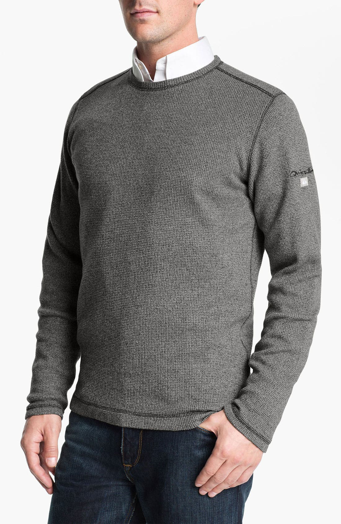 Alternate Image 1 Selected - Quiksilver Waterman Collection Cotton Crewneck Sweater