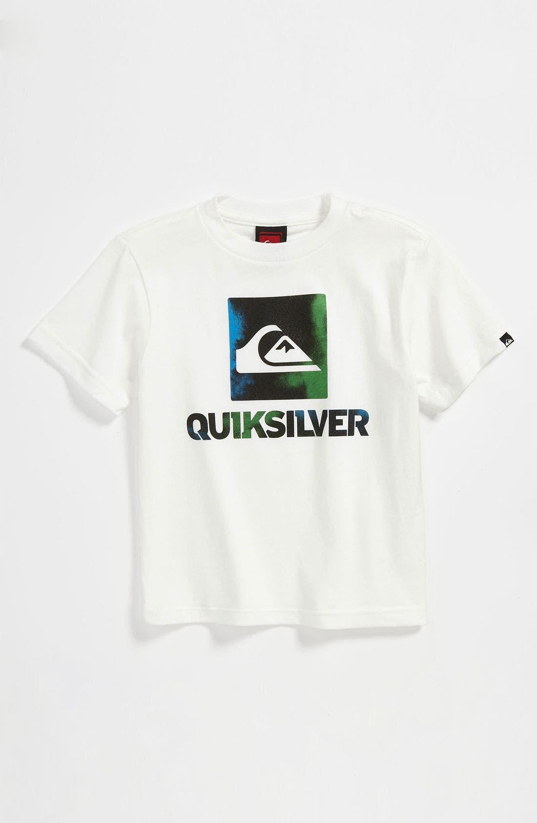 Alternate Image 1 Selected - Quiksilver 'Spilled' T-Shirt (Infant)