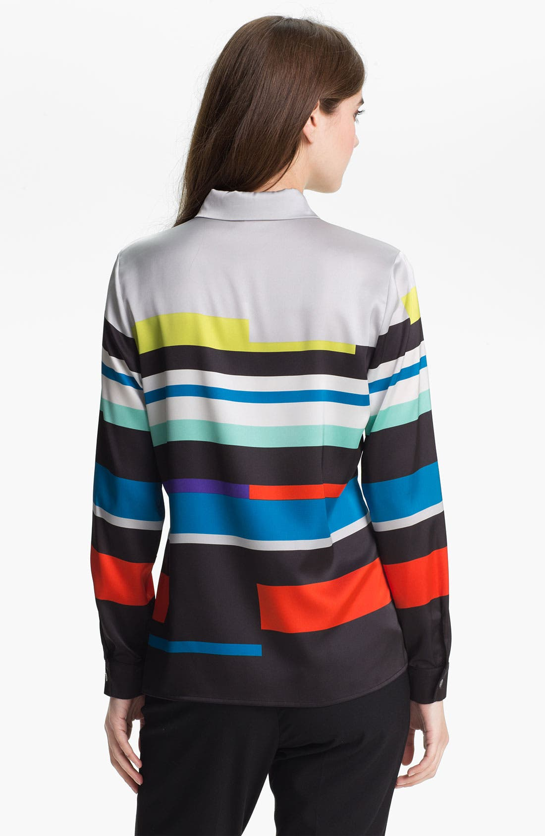 Alternate Image 2  - Vince Camuto 'Graphic Lines' Blouse