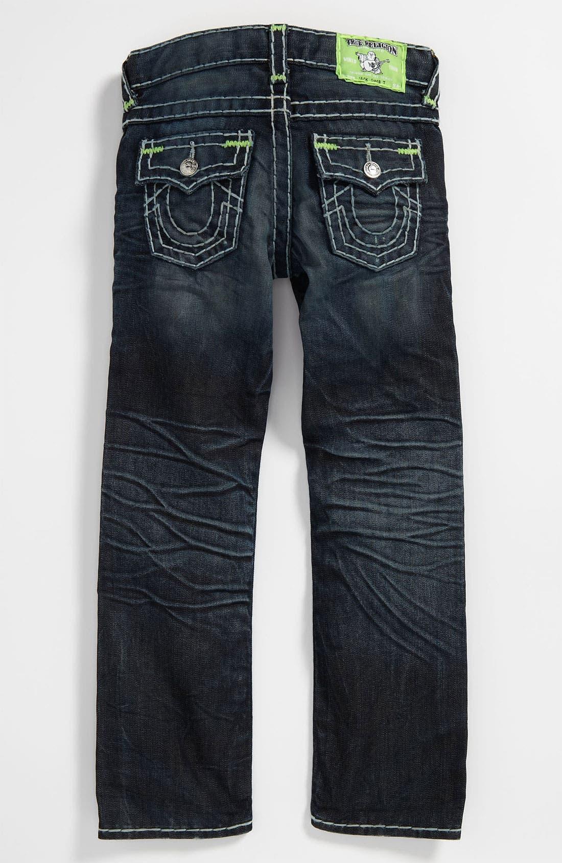 Alternate Image 1 Selected - True Religion Brand Jeans 'Jack Super T' Jeans (Big Boys)