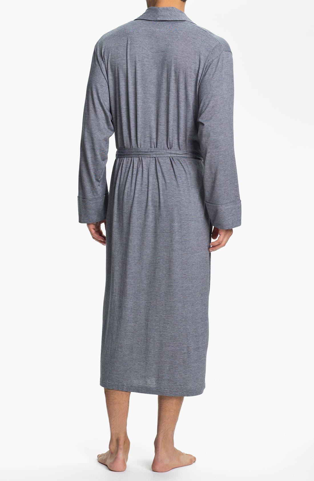 Alternate Image 2  - Daniel Buchler Pima Cotton & Modal Robe