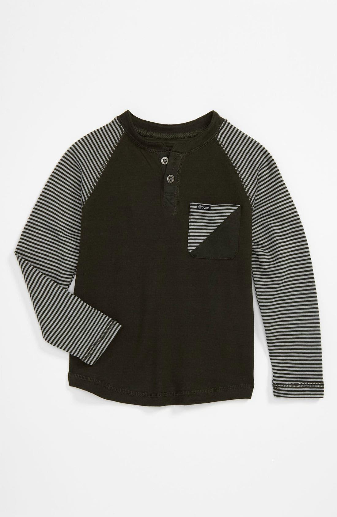 Alternate Image 1 Selected - Sovereign Code Henley Shirt (Toddler)