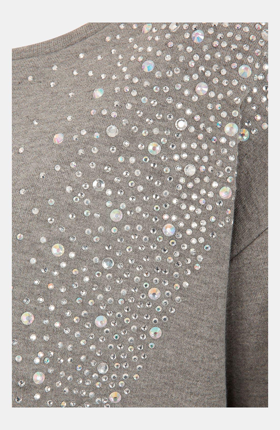 Alternate Image 3  - Topshop 'Galactic' Rhinestone Embellished Sweatshirt