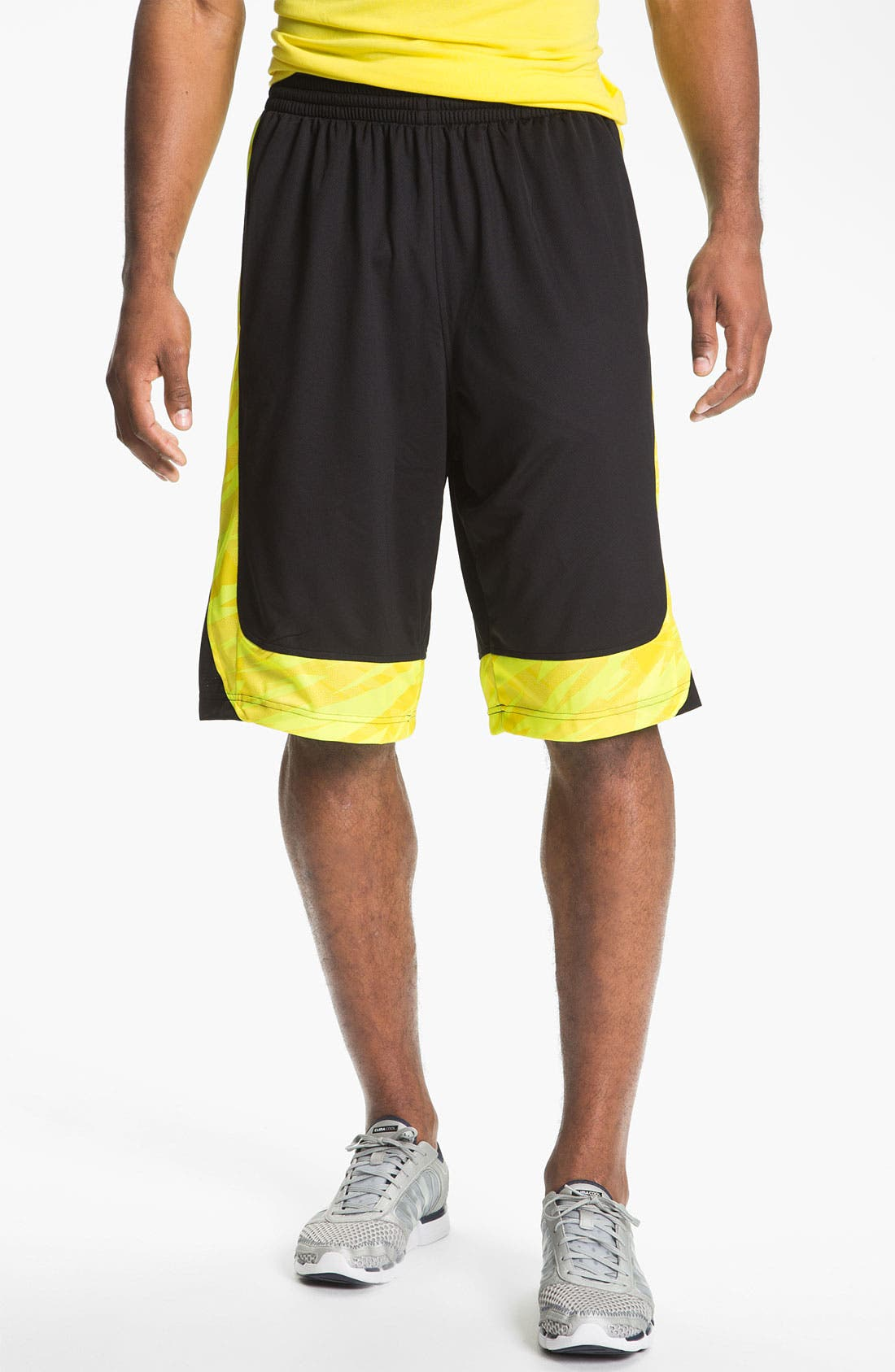 Alternate Image 1 Selected - adidas 'Edge Camo' Shorts