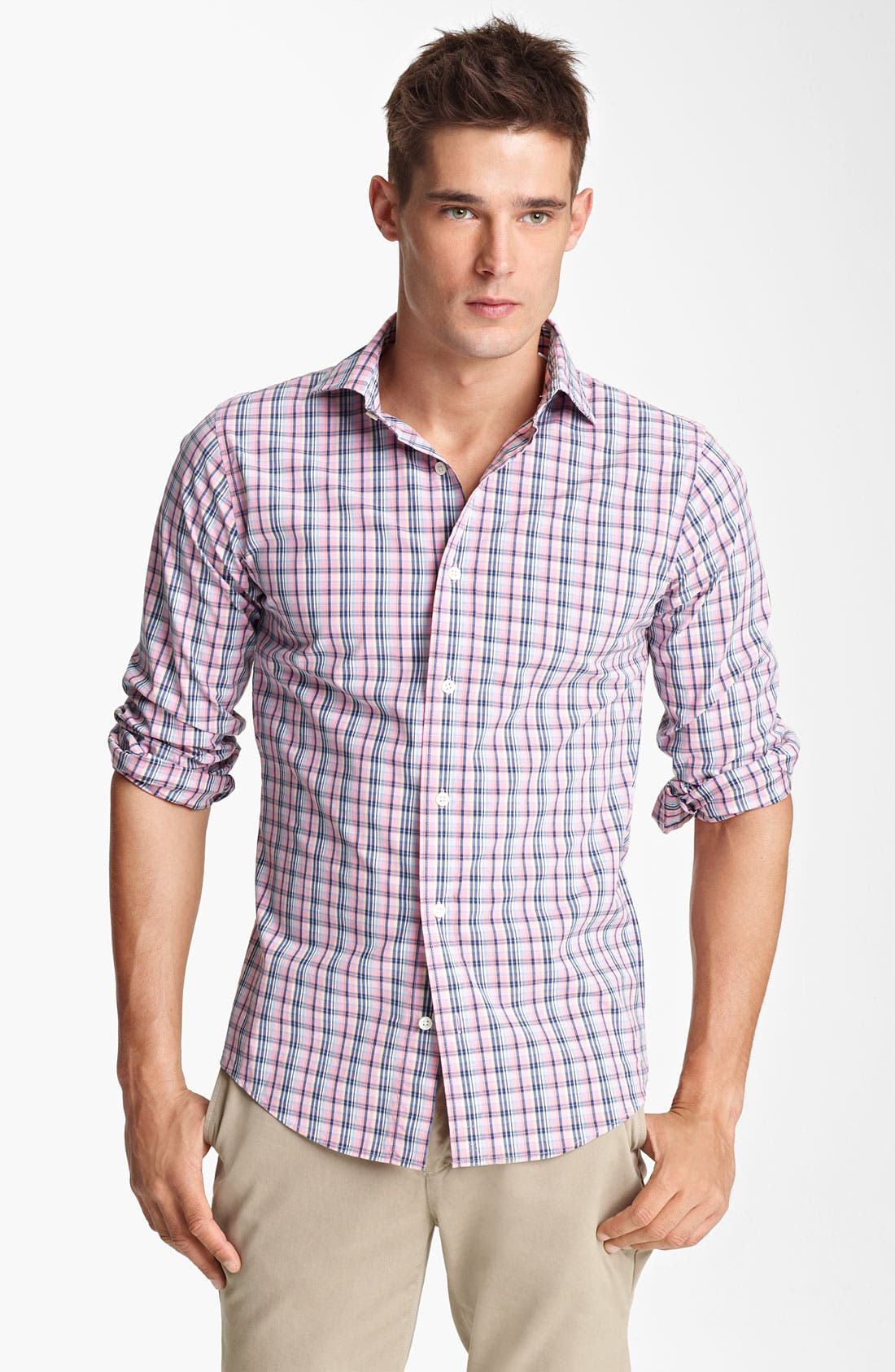 Alternate Image 1 Selected - Jack Spade 'Tally' Plaid Shirt