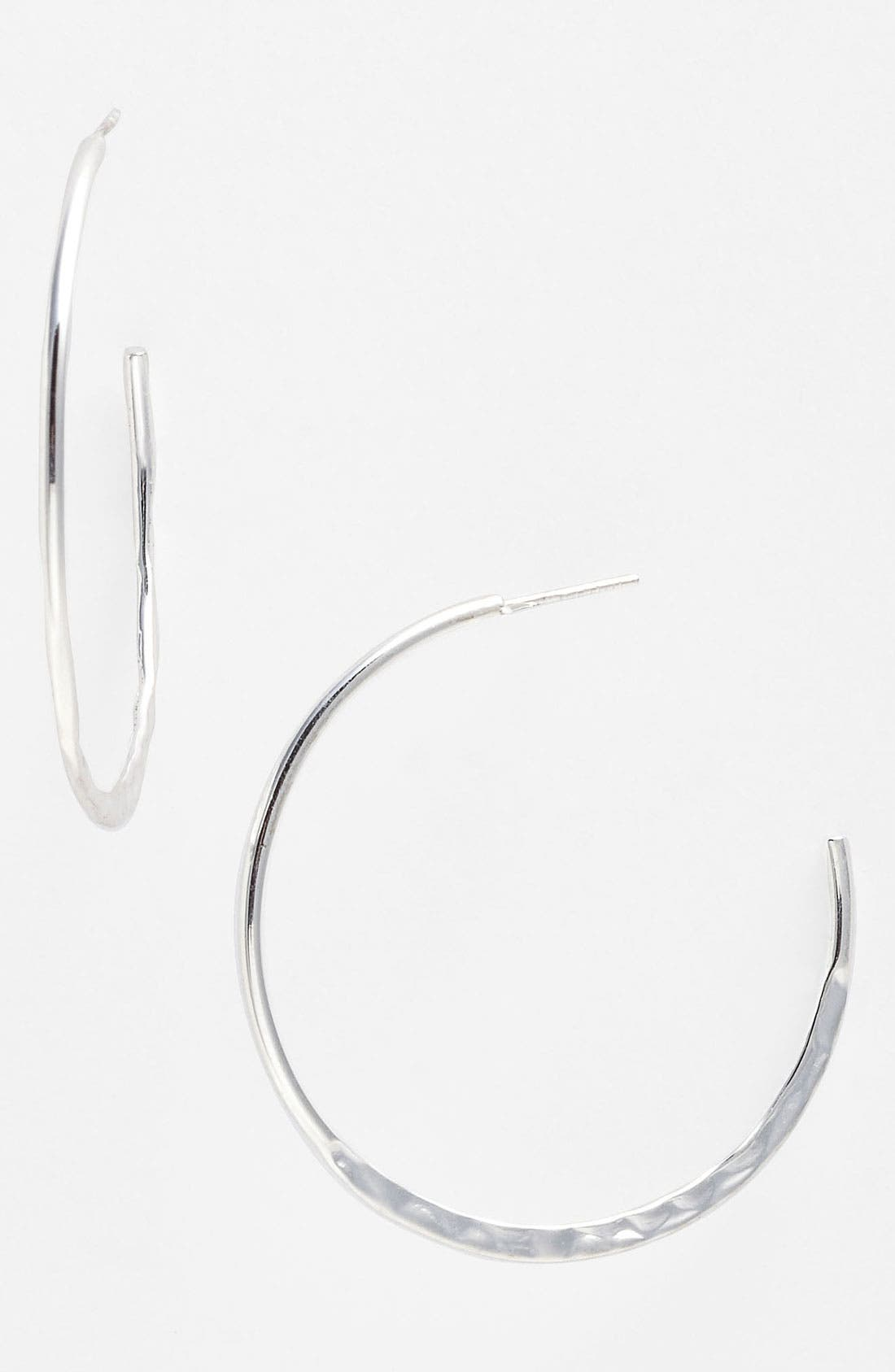 Alternate Image 1 Selected - Argento Vivo Hoop Earrings