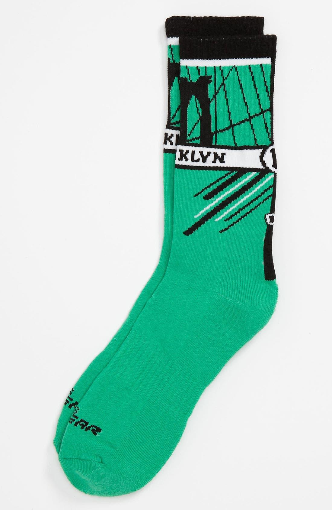 Alternate Image 1 Selected - G 206 Wear 'Brooklyn' Socks (Big Kid)