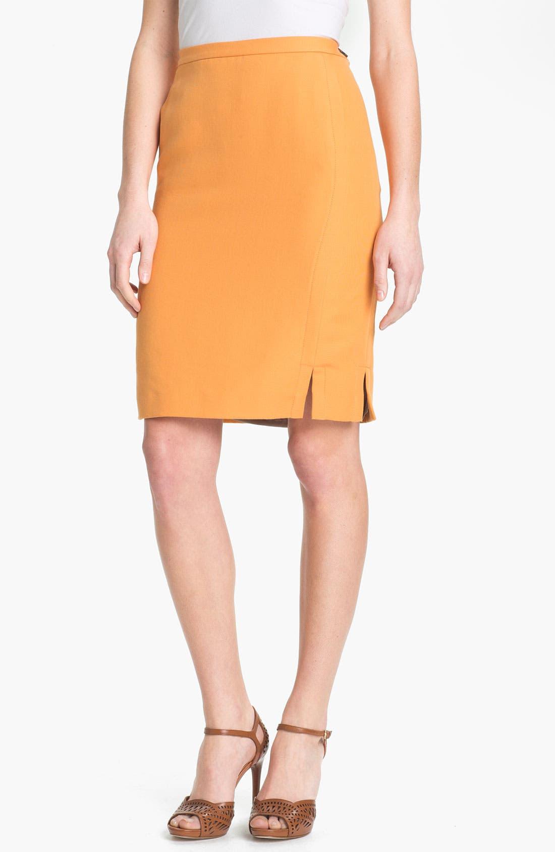 Alternate Image 1 Selected - Lafayette 148 New York 'Sofia - Retro Cloth' Skirt