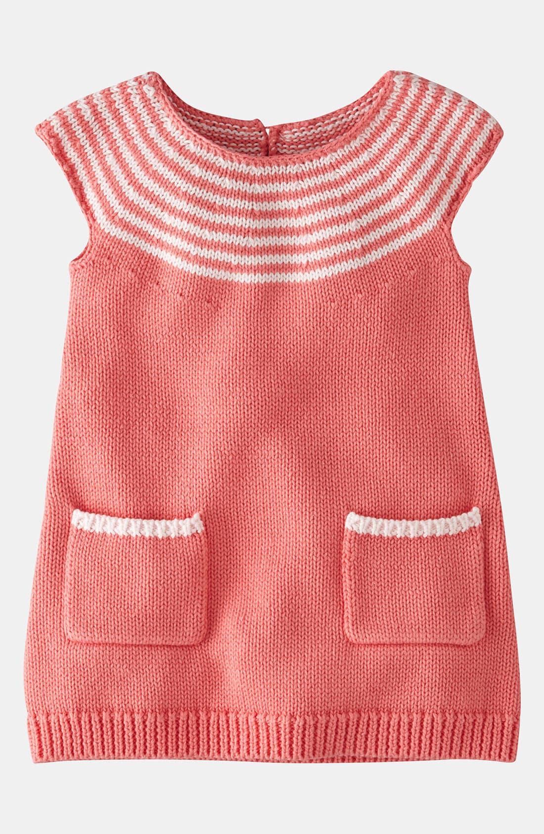 Main Image - Mini Boden Knit Dress (Baby)