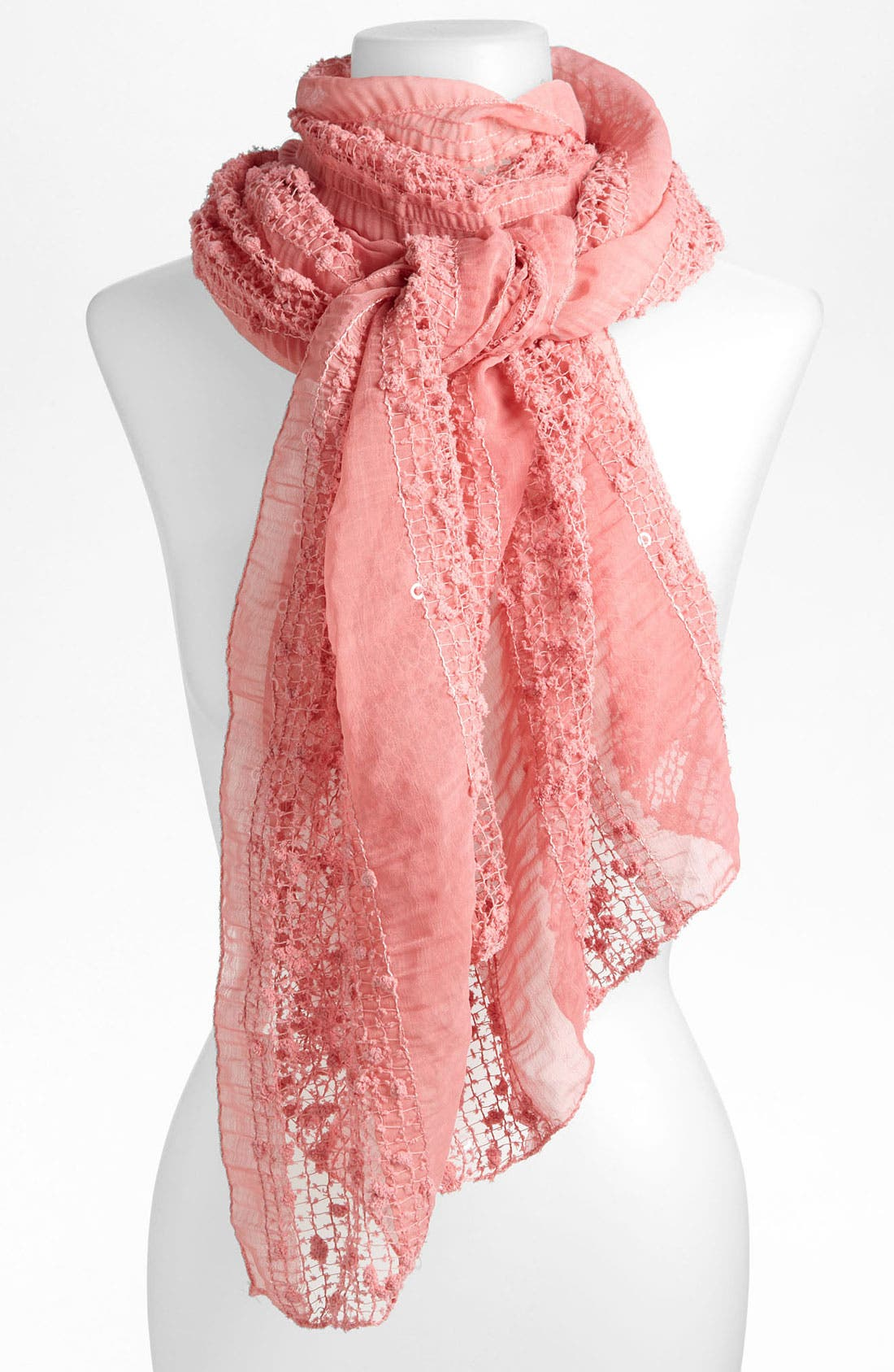 Alternate Image 1 Selected - Brazen 'French Kiss' Scarf
