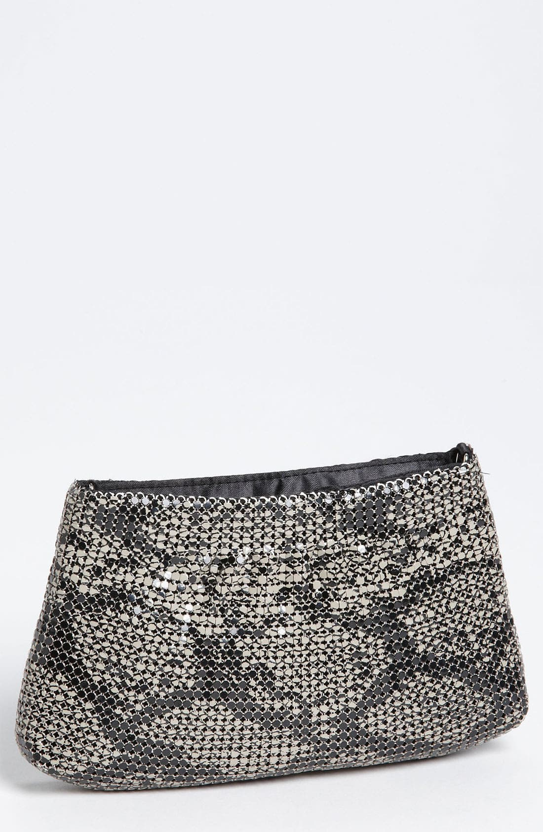 Main Image - Magid Exotic Print Mesh Mini Bag