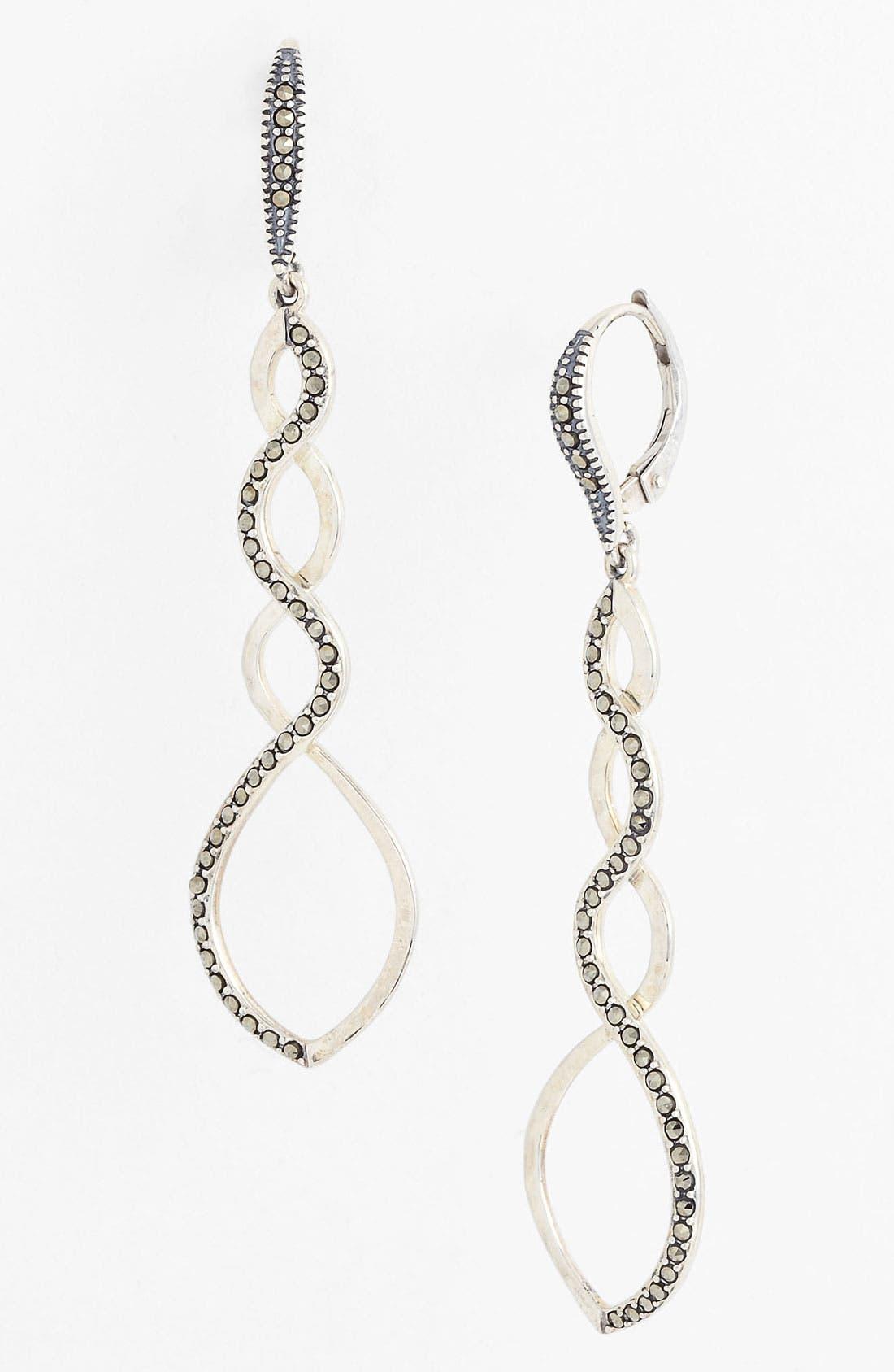 Main Image - Judith Jack 'Turq Matrix' Linear Earrings