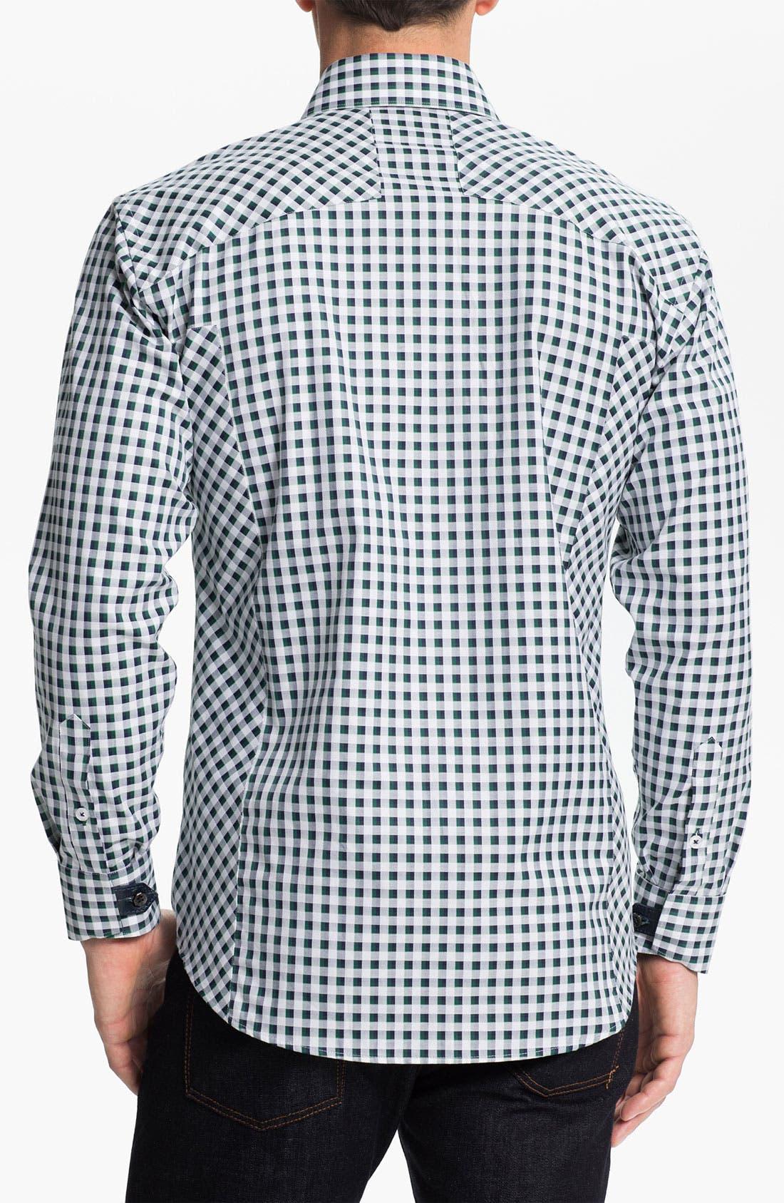 Alternate Image 2  - Bogosse 'Clau 52' Trim Fit Sport Shirt