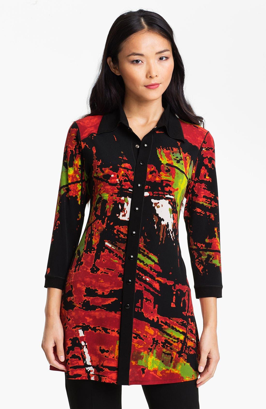 Alternate Image 1 Selected - Eva Varro Stretch Knit Tunic Dress