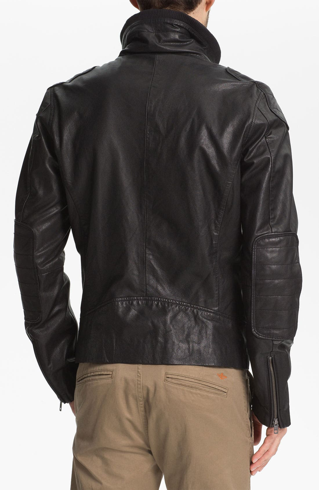 Alternate Image 2  - DIESEL® 'Literal' Leather Jacket