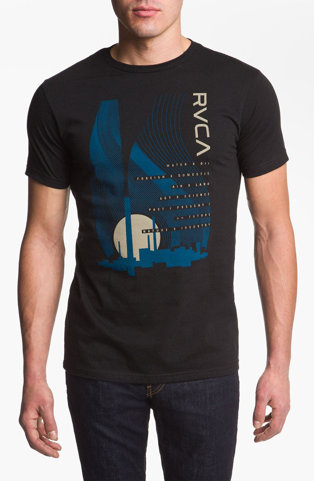 Alternate Image 1 Selected - RVCA 'New Industry' Graphic T-Shirt