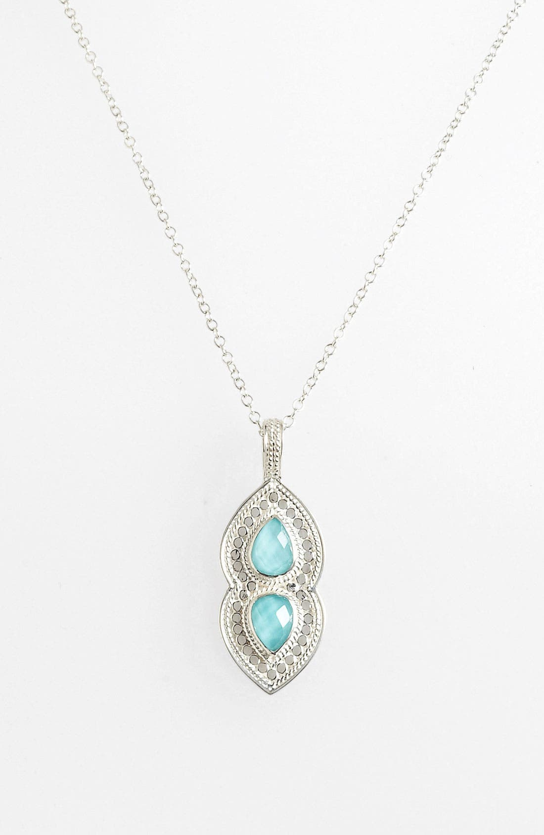 Alternate Image 1 Selected - Anna Beck 'Gili' Wire Rimmed Pendant Necklace